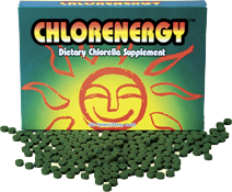 chlorella supplement tablets